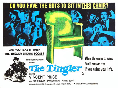 The Tingler (1959) key art
