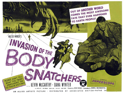 Invasion Of The Bodysnatchers (1956)